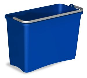 0B003252 BUCKET 8 L WITH UPPER HANDLE - BLUE