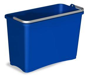 0B003252 Secchio 8 L Con Manico Superiore - Blu