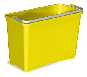 0G003252 BUCKET 8 L WITH UPPER HANDLE - YELLOW