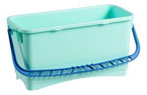 0B003213X Secchio Rettangolare Bcs 20 L - Blu - Verde Bcs Co