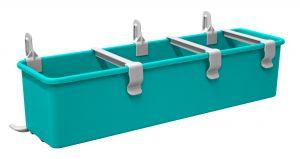 T030325 Kit Vaschetta Green laterale - Grigio-Verde