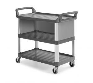 0F0B3700E Trolley Shelf B3700 - Gris - Ruedas Ø 100 mm