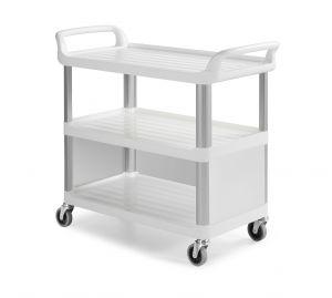 0F0C3700W Trolley Shelf C3700 - Blanco - Ruedas Ø 100 mm