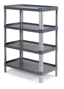 0F003804E Carrelo Shelf 3804E - Grigio
