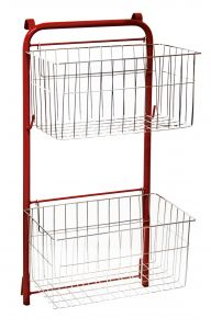 00003058 DUST BASKETS - RED