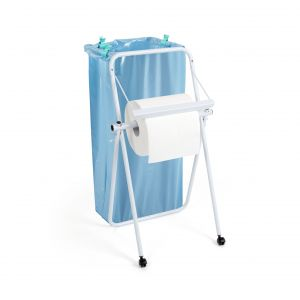 00004215 BREAK WITH BAG HOLDER - WHITE - WITH WHEELS