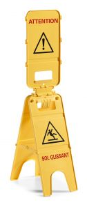 00003595 SIGNAL 3 DOORS - FR - YELLOW - WITH AGGA SYSTEM
