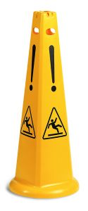 S210410 PYRAMID SAFETY SIGNAL - YELLOW