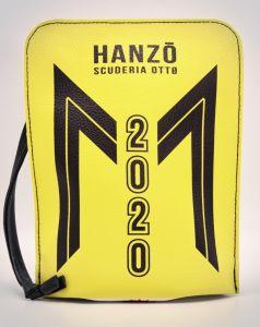 HY-2858 Bauletto Hanzo - Scuderia Otto POCHETTE  IN ECOPELLE cm 20 x 14 x 6 - 10 pezzi