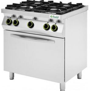 CC74GFEV Cocina de gas con horno eléctrico - Fimar
