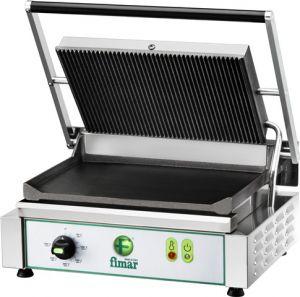 PE35LN Piastra cottura in ghisa singola media liscia/rigata monofase 2200W