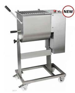 30C1P Pétrin pour viande électrique inox 25-30 kg 1 lame