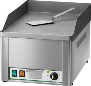 FRY1L Fry top elettrico da banco monofase 3000W piano singolo - liscio
