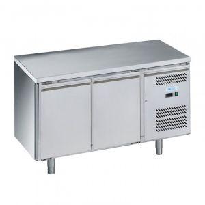 G-SNACK2200TN-FC Tavolo Refrigerato Ventilato 2 Porte - Temp -2° +8°C - Capacità Lt 159