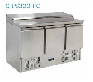 G-PS300-FC Saladette réfrigérée - Température + 2 ° / + 8 ° C - Capacité 392 litres