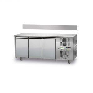 FTR3TN - Mesa ventilada refrigerada 3 puertas - 0 / + 10 ° - SIN ELEVADOR