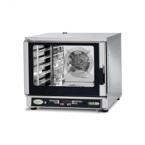 FFDU5 Digital convection oven with water injection - 5 trays