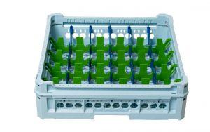 GEN-K35x6 CESTA CLASSICA 30 SCOMPARTI RETTANGOLARI - Altezza bicchiere da 120mm a 240mm