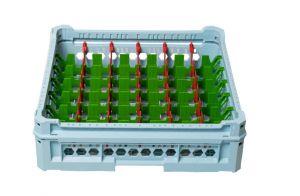 GEN-K36x7 PANIER CLASSIQUE 42 COMPARTIMENTS RECTANGULAIRES - Hauteur de tasse de 120 mm à 240 mm