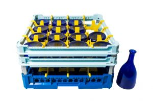 GEN-100135 Cesta especial para lavar 16 botellas de agua 75cl