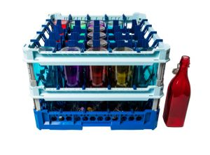 GEN-100137 Cesta especial para lavar 25 botellas de agua 100cl