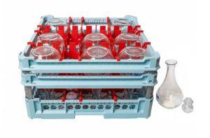 GEN-100140 Cesta speciale per il lavaggio di 9 bottiglie acqua 127cl