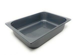 GE362508MO Disposable basin 360x250x80 mm Gray
