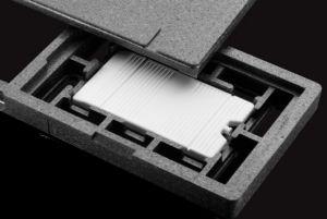 Soporte CIGE-TBT + Placa de enfriamiento para contenedor isotérmico para 6 carapinas
