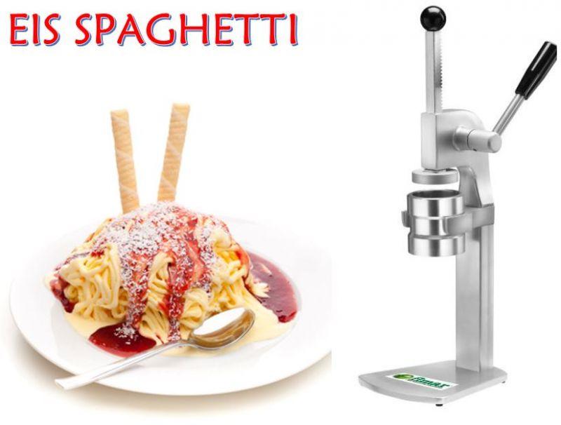 spaghetti ice cream machine