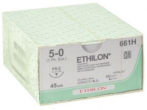 GI-22301 - SUTURA MONOFILAMENTO ETHICON ETHILON - 5/0 ago 19 mm
