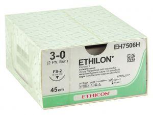 GI-22304 - SUTURA MONOFILAMENTO ETHICON ETHILON - 3/0 ago 19 mm