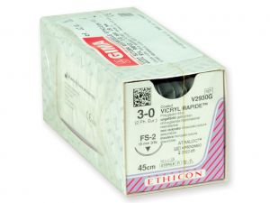 GI-22372 - SUTURA ASSORBIBILE ETHICON VICRYL RAPID - 3/0 ago 19 mm