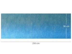GI-25154 - TAPPETINO ASSORBENTE IMPERMEABILE PRETAGLIATO 90 x 250 cm