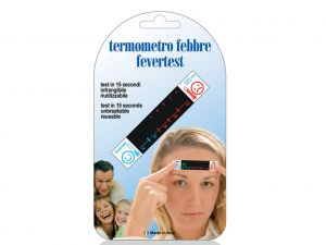 GI-25599 - TERMOMETRO FRONTALE FEVER TEST - blister