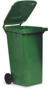 AV4676 Contenedor de residuos verde 2 ruedas 100 litros