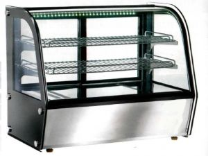 VPH120 Ventilated tabletop heated showcase 71x58x67h