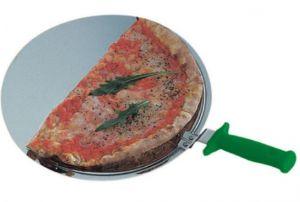 AV4931 Pala para pizza redonda de acero profesional Ø33cm