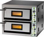 FME44 Forno elettrico pizza 8,4 kW doppia camera 61x61x14h