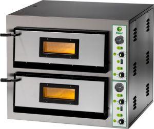 FME44M four à pizza électrique 8.4 kW chambre double 61x61x14h - monophasé