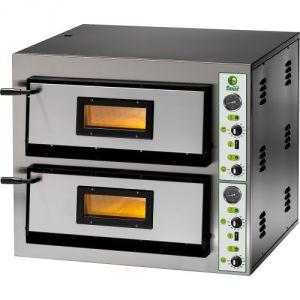 Horno de pizza eléctrico FME99 19.2 kW habitación doble 91x91x14h