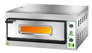 FES4M Forno elettrico pizza 4,2 kW 1 camera 66x66x14h - Monofase