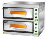FES44M Forno elettrico pizza 8,4 kW doppia camera 66x66x14h - Monofase