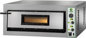 FML4M Horno eléctrico para pizza 6 kW 1 ambiente 72x72x14h cm - Monofásico