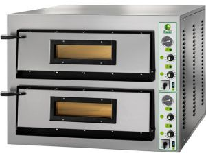 FMLW66M Horno de pizza eléctrico de 18 kW habitación doble 108x72x14h cm - Monofásico