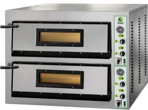 FML99 Horno de pizza eléctrico 26.4 kW habitación doble 108x108x14h cm