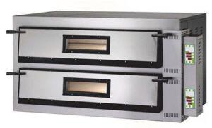 FMD66M Forno elettrico pizza digitale 18kW 2 camere 72x108x14h cm - Monofase