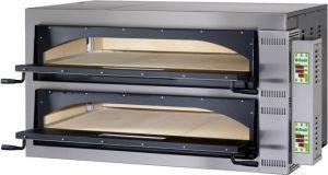 FMDW66M Horno eléctrico pizza digital 18kW habitación doble 108x72x14h cm - Monofásico