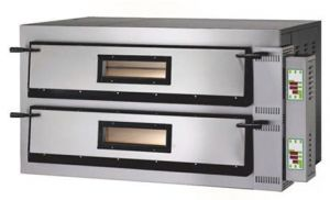 FMD99 Horno de pizza eléctrico digital 26.4 kW habitación doble 108x108x14h cm