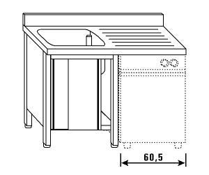 LT1188 Lave el armario para lavavajillas