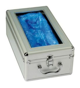 T110001 Aluminium Automatic shoe cover dispenser